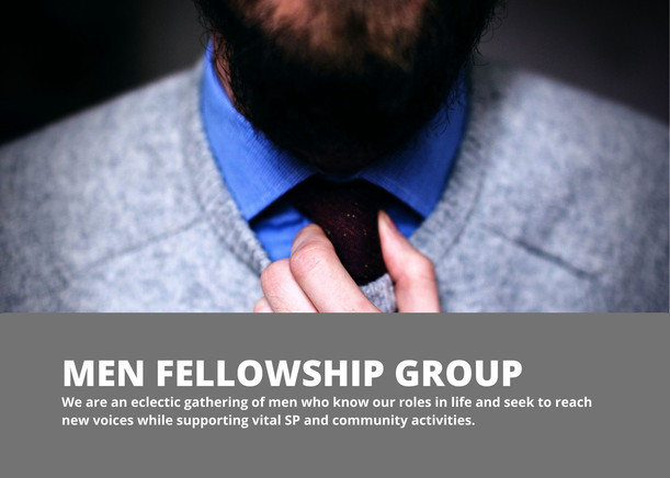 Join Our Men's Fellowship Group