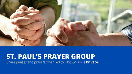 Join our Private Facebook Prayer & Praise Group