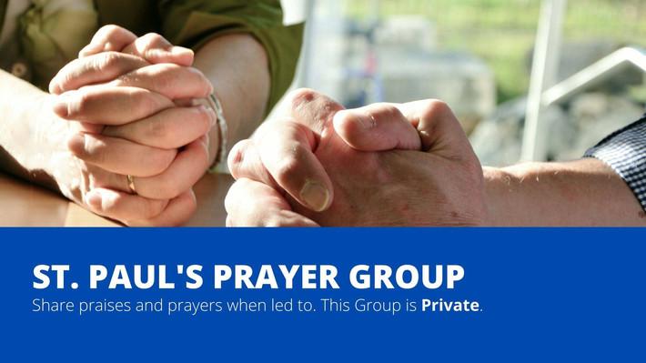 Facebook Prayer Group