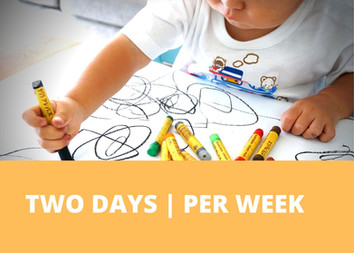 TWO DAYS | PER WEEK