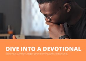 Dive Into a Devotional