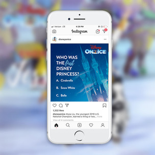 Disney on Ice Social Media