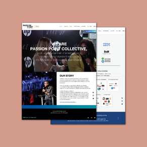 Passion Point Collective Web Design