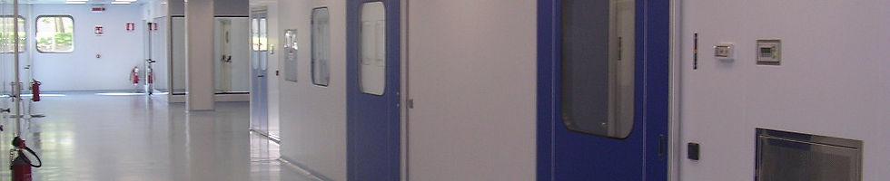 Двери для чистых пмещений