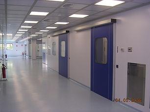 Потолок тавровый кассетный для чистых помещений типа CT1200