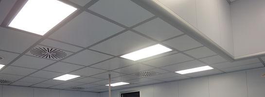Потолок дя чистых помещений