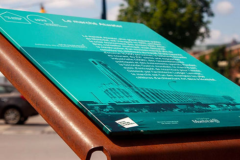 ALTO Aluminum wrapped graphics for a perfectly finished edge.