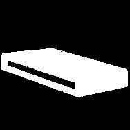 ALTO™ Aluminum Over the edges.
