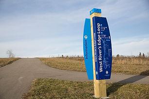 North-Saskatchewan River-Valley-Trail Wa