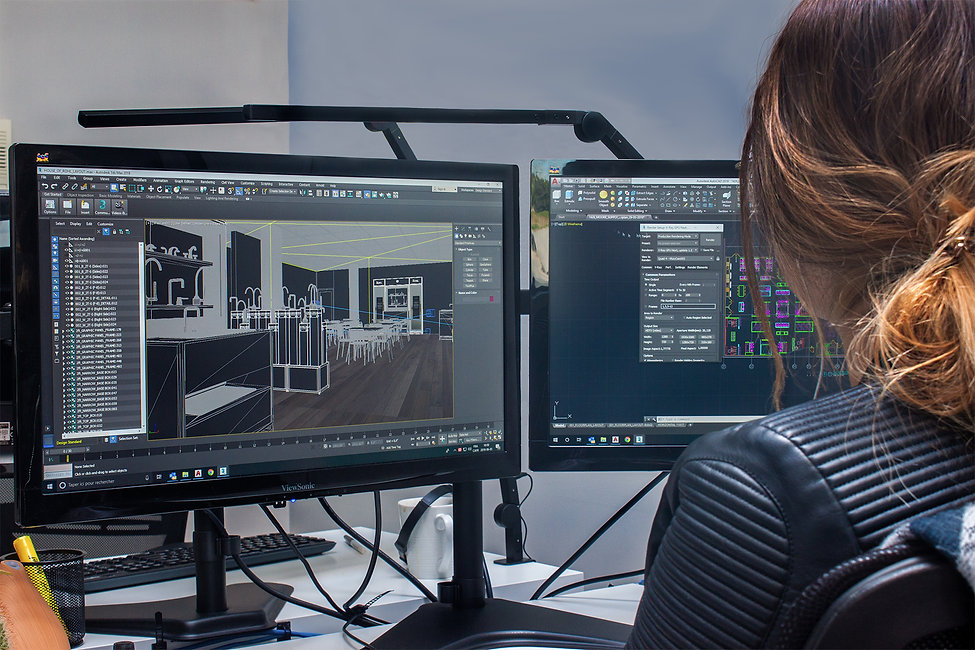 End-to-End Showroom Design-Build Management