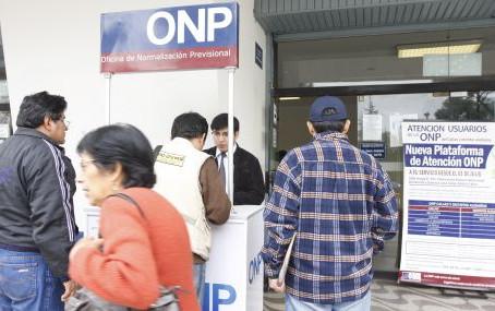 ONP: Trámites para solicitar la pensión de jubilación, incremento de pensión, capital de defunción d