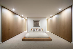 Glamorous-twin-futon-mattress-in-Bedroom-Scandinavian-with-Built-in-Platform-Beds-next-to-Japanese-B