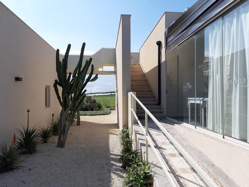 scalinata di cementine originali delle ville palermitane - staircase of original cement tiles of the palermitan villas
