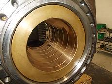 Riparazione cilindri oleodinamici e revisioni annuali gru Arpav