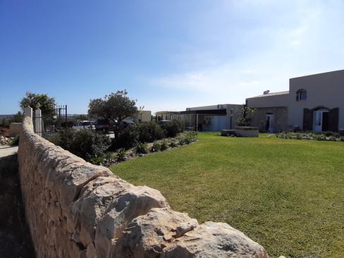 muretto a secco - dry stone wall