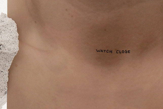 "Closeness I, 2019 (side ""Watch Close"")"