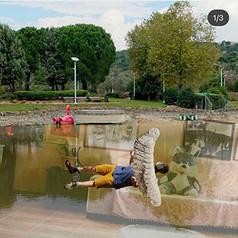 Katarina Baumann and Roee Cohen, Untitled, 2020 (1/3), Digital collage