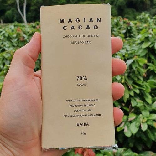 CHOCOLATE 70% CACAU TRINITÁRIO SJ02 70g