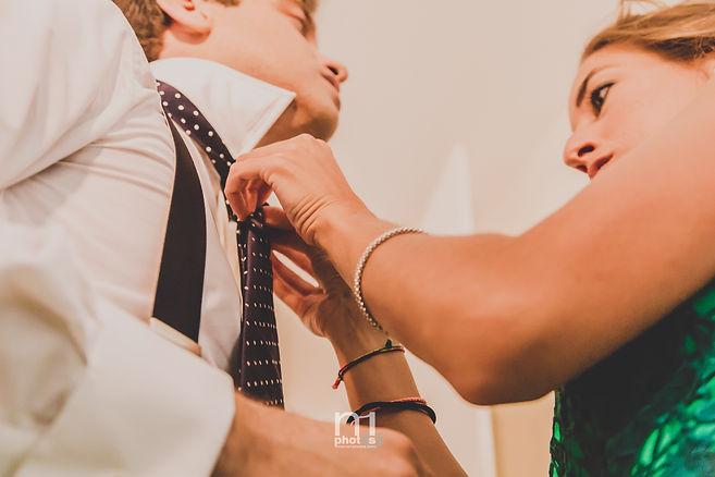 Boda proparación novio fotografo de bodas alicante no1photos