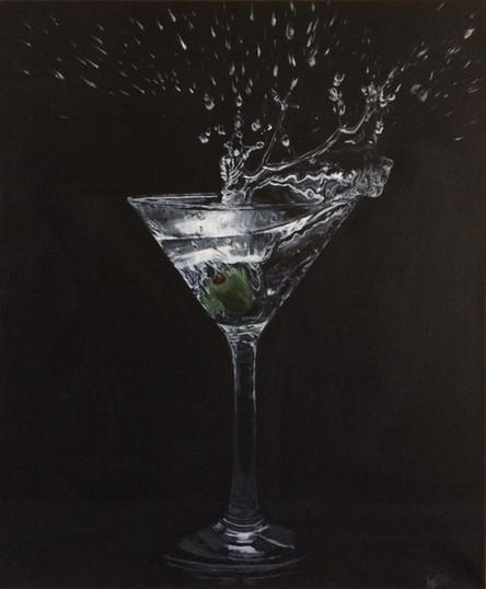 A Martini. Shaken, not Stirred