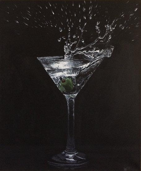 Martini: Archival Paper Signed LE Print