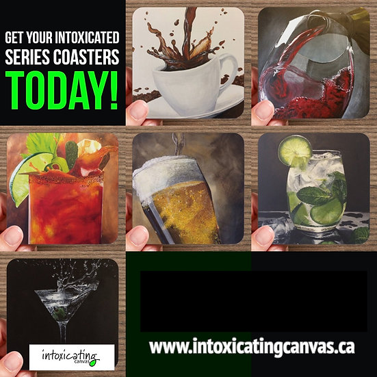 Intoxicated Series Coaster Pack