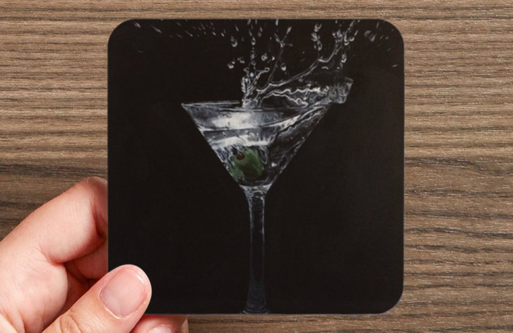 Martini Coaster Pack