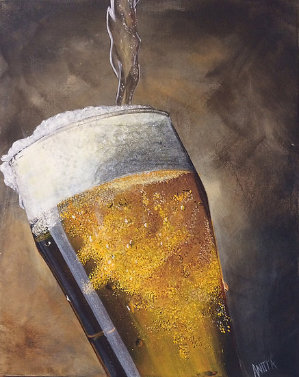 Beer: Archival Paper Signed LE Print
