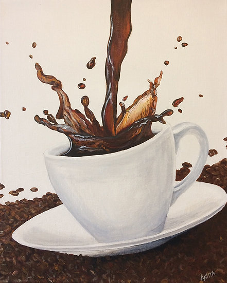 Coffee: Archival Paper Signed LE Print