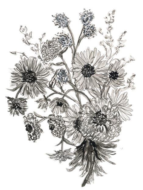 Vintage Floral 3_rough sketch
