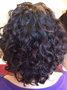 Curly cut