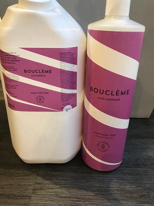 Refill - 1 litre Boucleme Super Hold Styler