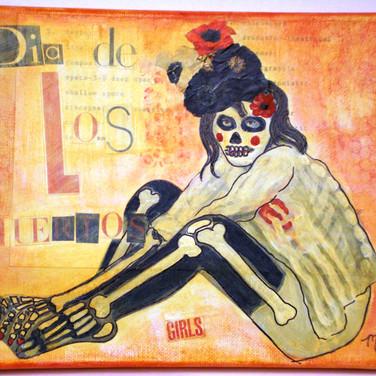 Dia de Los Muertos Girls (series)