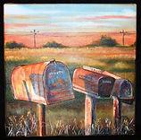 Sunset Mail 12X12 2008.jpg