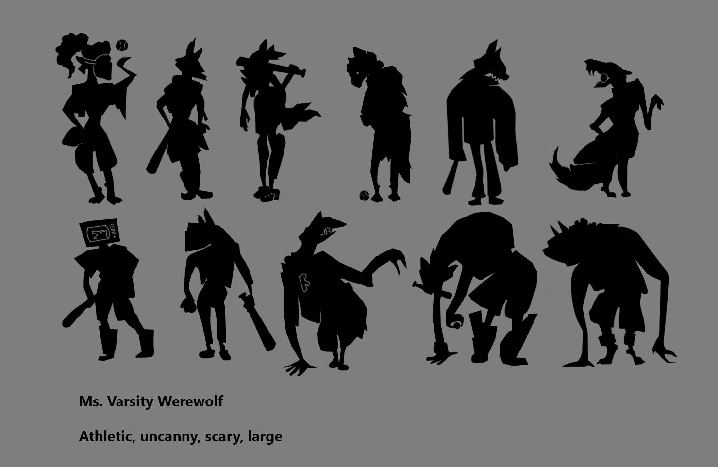 Varsity Werewolf Hati