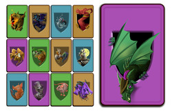 Monster Stack Cards