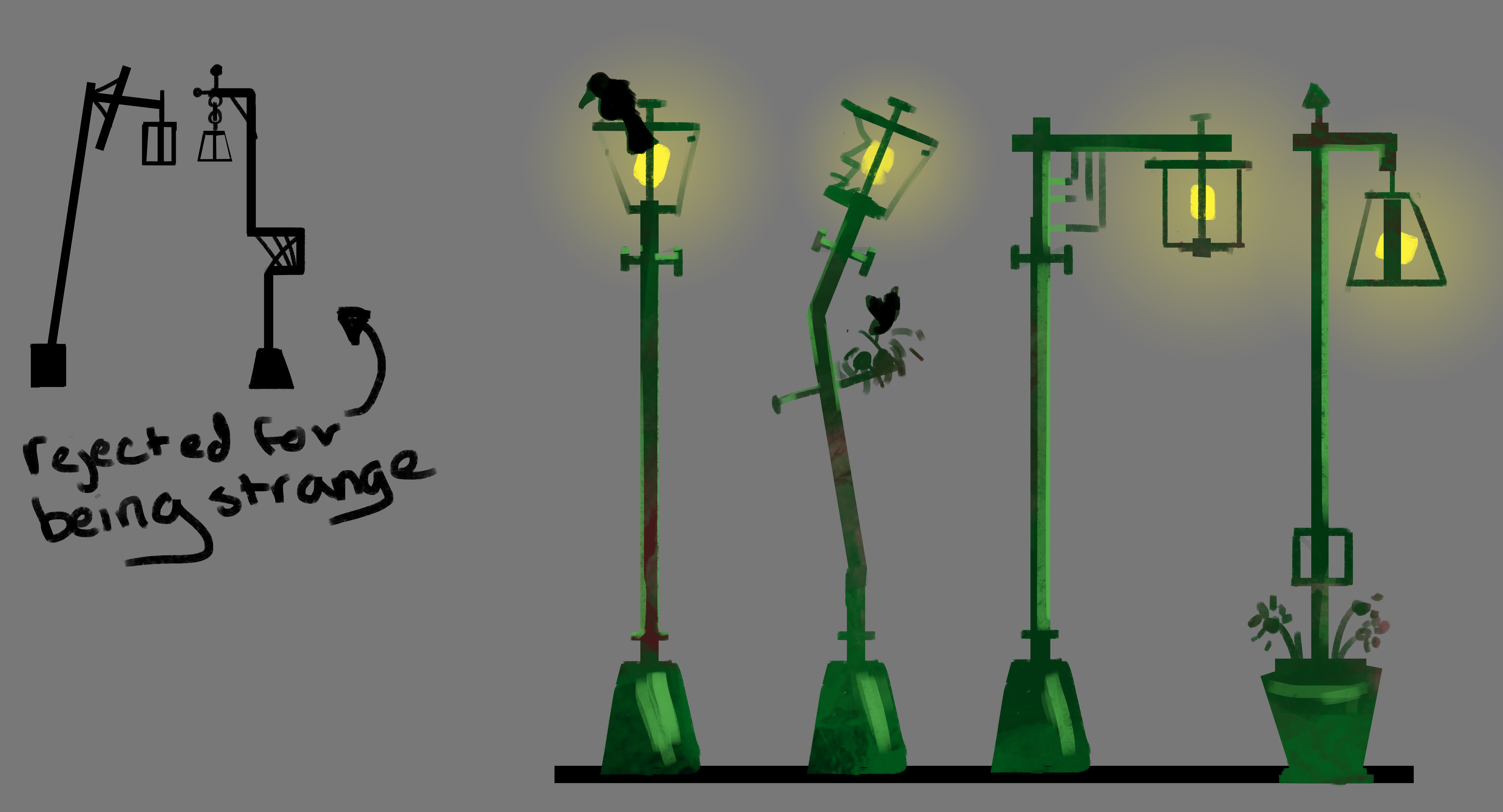 Lamppost Design