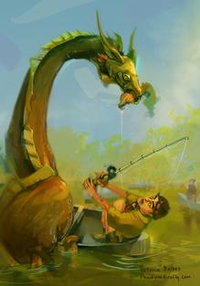 Dragon Catching Badge