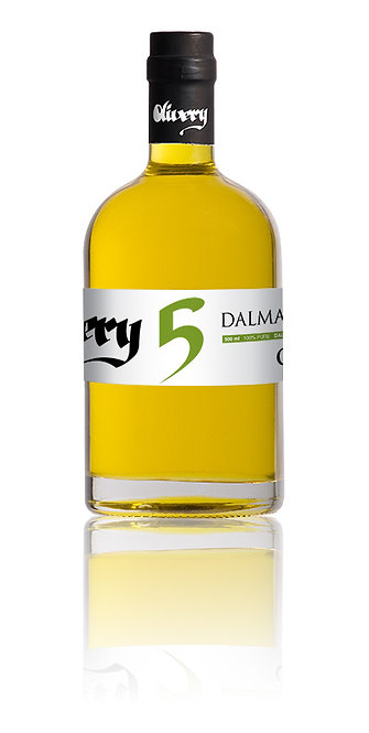 Olivery no.5 Dalmaticus Naturalis Olive Oil 500 ml