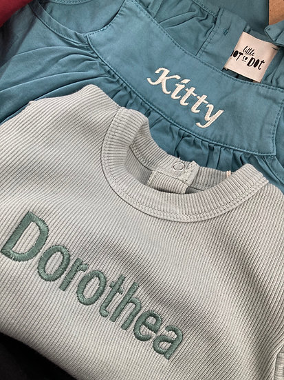 Embroidery / Personalisation