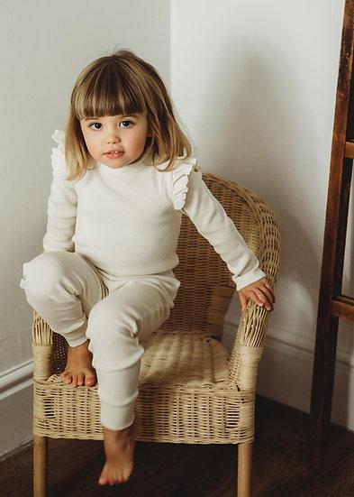 Organic Essentials Loungewear set - Cream