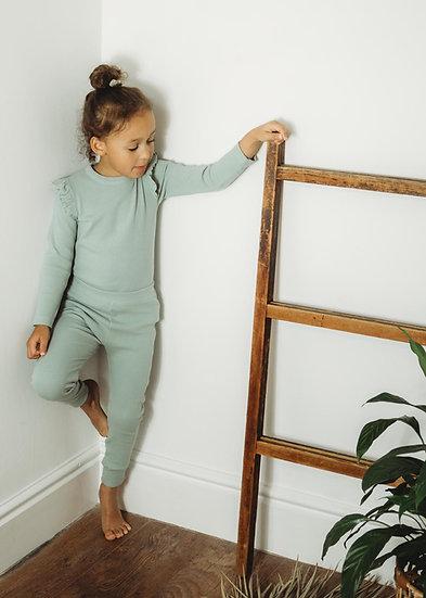 Organic Essentials Loungewear set - Sage