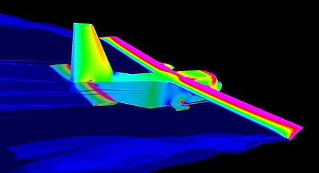 Skylander - development CFD.  Courtesy of Dr Gordon Robinson