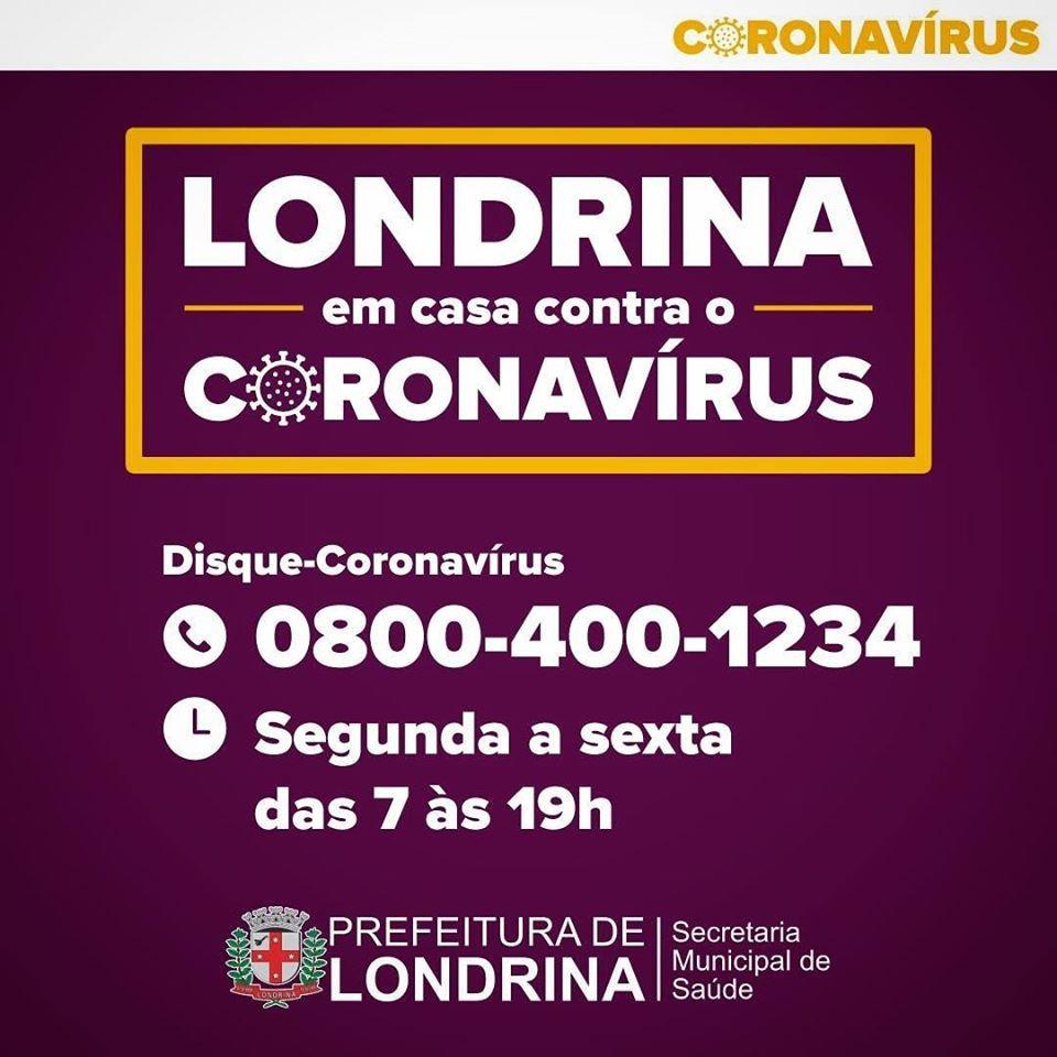 Prefeitura cria Disque-Coronavírus