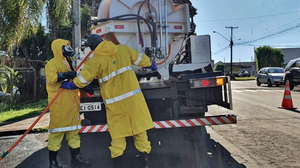 Sanepar fará nova desinfecção no entorno de hospitais em Londrina