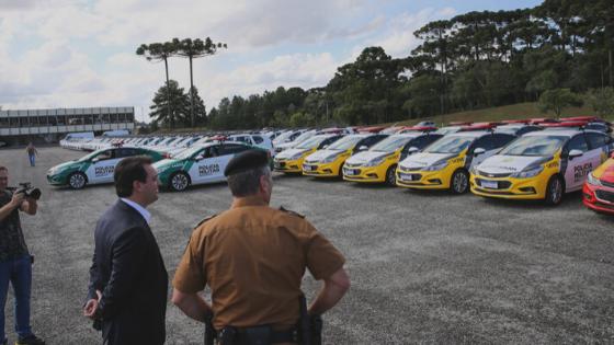 Governo estadual entrega mais 118 viaturas