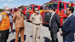 Governo estadual entrega mais 119 viaturas
