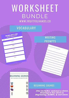 Worksheet Bundle