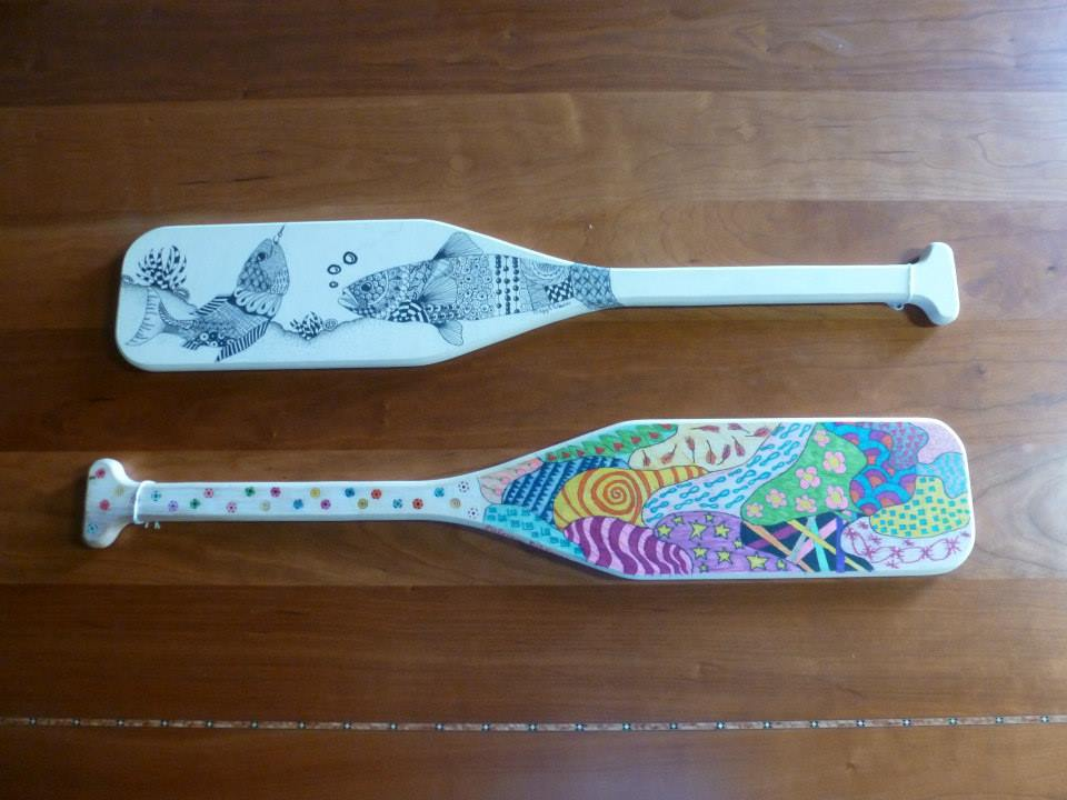 Paddles for Fundraiser