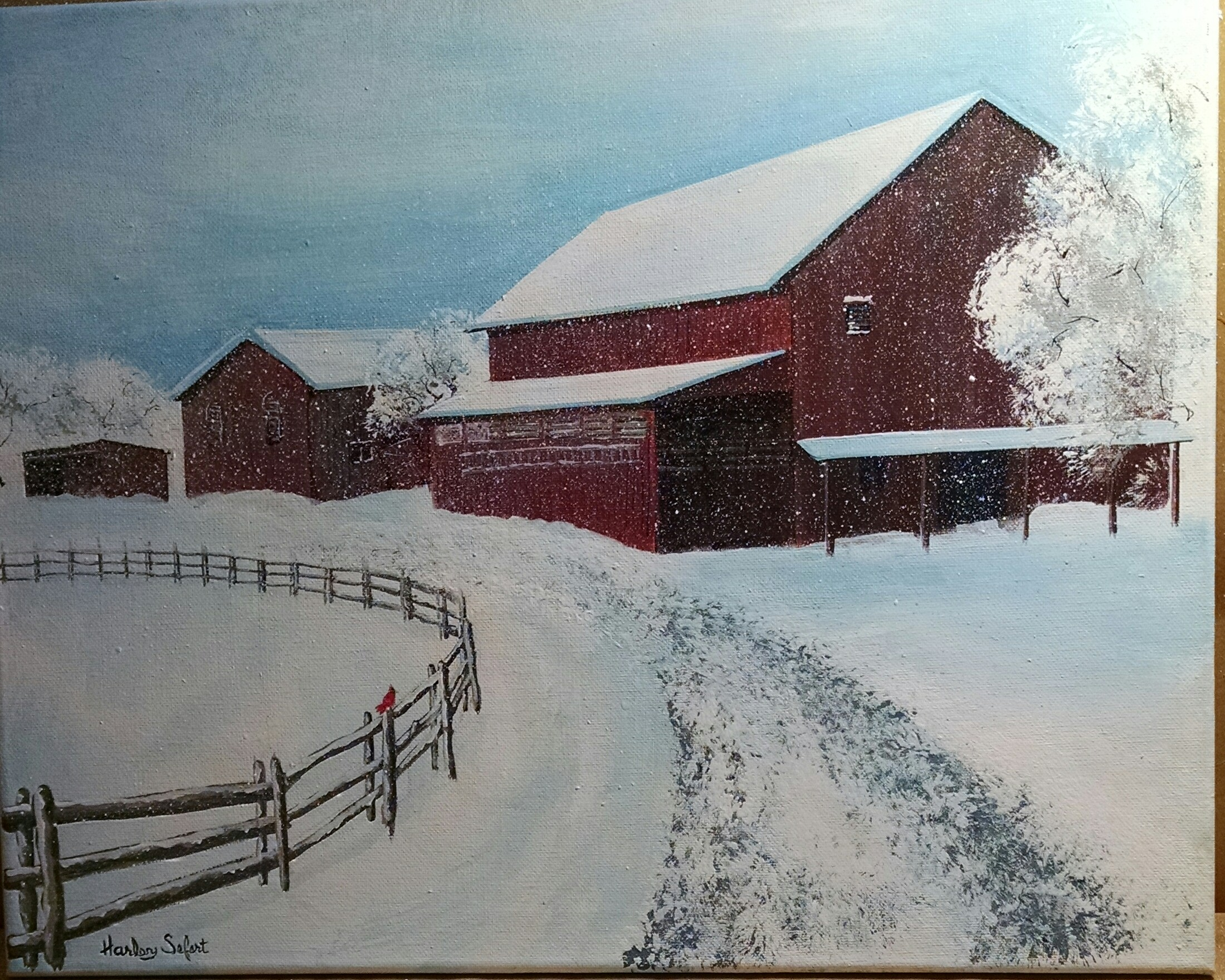 Ohio Barn #2, Sold